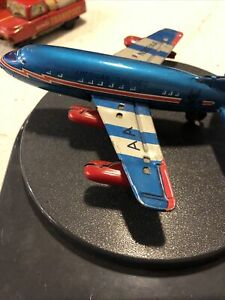 American Airline Friction Plane