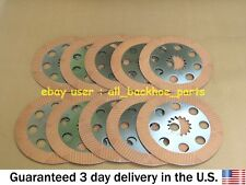 JCB BACKHOE - BRAKE FRICTION PLATE, SET 10 PCS. (PART NO. 332/Y8135)