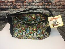 Ed Hardy Promotional Travel Tote Bag True to My Love All Over Women Tattoo 16x14