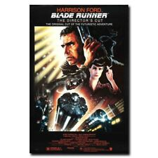 Blade Runner 12x8inch 1982 Classic Movie Silk Poster Wall Decoration Art Print
