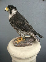 Peregrine Falcon,Bird of prey sculpture Falcon garden figure Peregrine gift