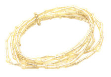 Exuberant - Multiple Stranded Gold Beads/ One Size Fits All Bracelet(Zx-110)