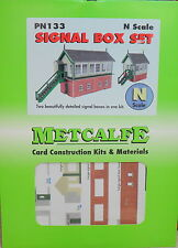 New Metcalfe PN133 N Scale Signal Box Set