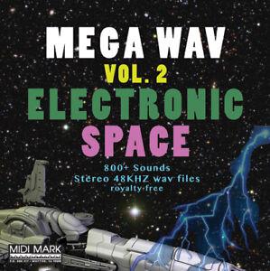 Mega Wav Vol. 2 Electronic Space sound fx effects wav sirens royalty free sample