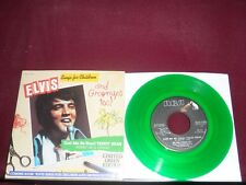 "ELVIS PRESLEY ""(Let Me Be Your) Teddy Bear"" w/Pic RCA 11320 Green Wax!"