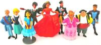 ELENA OF AVALOR 9 Figure Doll Play Set DISNEY PVC TOY Birthday Party DECORATIONS