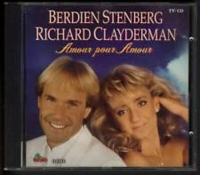BERDIEN STENBERG & RICHARD CLAYDERMAN Amour Pour Amour DUTCH TV CD DINO