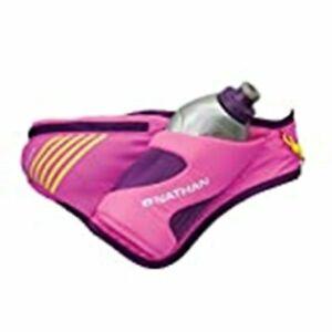 Nathan Peak 18 oz Hydration Waist Pack Run Flask PINK NEW