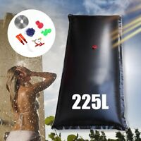 225L Portable Solar Energy Heated Shower Bathing Bag Outdoor Camping