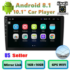 Bluetooth Car Stereo Radio Android 8.1 2 DIN 10.1
