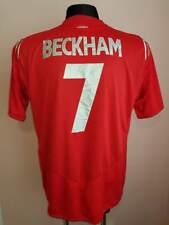 England national team Away Shirt 2004 - 2006 Umbro David BECKHAM 7 original red