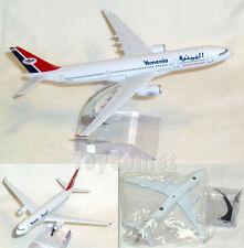 Yemenia Yemen Airways Airbus A330 Airplane 16cm DieCast Plane Model