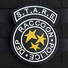 Resident Evil S.T.A.R.S Raccoon Police DEP 3D PVC Shoulder Patch