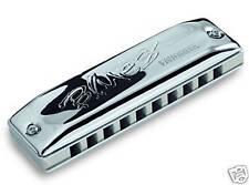 Seydel Blues Favorite Harmonica  in C - Solid Aluminum Comb - 100% German Made!
