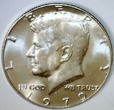 1970d KEY DATE BU ++ Kennedy SILVER Half Dollar ~ EXACT COIN Shown LOT #1   NR