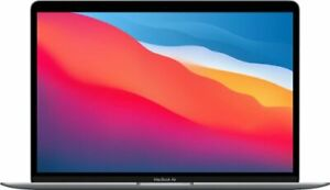 Apple MacBook Air 13in (256GB SSD, M1, 8GB) Laptop - Space Gray - MGN63LL/A