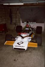 PHOTO  HSCC SILVERSTONE 21.9.85  SHOT OF THE OLD PIT GARAGES AND NO DOUBT A DOZE