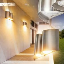 LED Aplique de diseño exterior jardín terazza patio veranda acero inoxidable