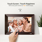 WIFI Digital Picture Frame 10.1 inch HD Touch Screen Motion Sensor 16GB Storage