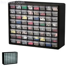 Storage Box 64 Drawer Organizer Hardware Craft Cabinet Beads Fishing Container