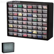Storage Box 64 Drawer Organizer Hardware Craft Cabinet Beads Fishing Container