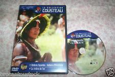 DVD COUSTEAU NO 18 OMBRES FUYANTES INDIENS D'AMAZONIE + LA RIVIERE DE L'OR