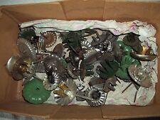 Dachbodenfund 35 alte Kerzenhalter-Steckhalter-Metall für Weihnachtsbaum