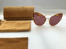 MOY ATELIER Naked Heart Shape Women's Sunglasses 12K Gold Plated - Boy Blush