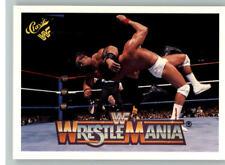 1990 Classic WWF WWE History of Wrestlemania #115 Barbarian Tito Santana