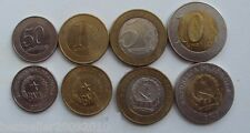 ANGOLA SET OF 4 RARE COINS WITH 2 BIMETAL COINS
