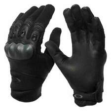 New Oakley Mens Factory Pilot Glove Black Size MEDIUM 94025A- 001M