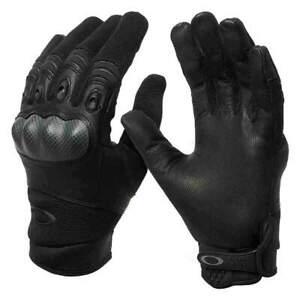 Oakley Mens Factory Pilot Glove, Black Large + New Oakley Balaclava Face Mask