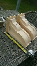 HandMade To Order .Solid Gingerbread corbels/fireplace/kitchen aga