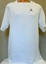 Nike Air Jordan Mens Sportswear Wings Short Sleeve White XL Sweatshirt AH4874