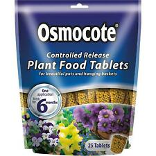 Osmocote Controlled Release Action Plant Flower Food Easy Use 6 Month 25 Tablets