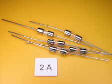5 Stück -  Picofuse Sicherung , 2A 250V axial ,schnell, 3,6 x 10mm, Glaszylinder