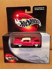 100% Hot Wheels 1957 Cadillac Eldorado 1:64 Die Cast NEW Limited Edition