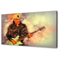 Carlos Santana modern canvas print picture wall art free fast delivery
