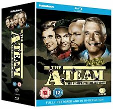 THE A-TEAM SERIES 1-5 THE COMPLETE COLLECTION BLU RAY BOX SET NEW SEASONS