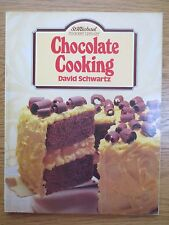 Vintage Cook Book CHOCOLATE COOKING D Schwartz Baking RETRO St Michael 1980s