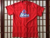 Philadelphia Phillies Florida Spring Training Red Graphic T Shirt Men Size M