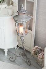 Laterne Windlicht Standlaterne Kerzenleuchter Metalllaterne Shabby Chic
