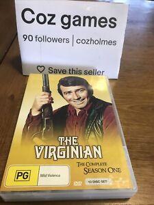 The Virginian The Complete Season One DVD Set Rare Australian Release