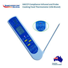 2 in 1 HACCP Compliance Infrared and Probe Cooking Food Thermometer (USA Brand)