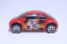 MATCHBOX VW VOLKSWAGEN BEETLE CONCEPT VERY NICE RED BUGS BUNNY