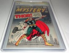 Journey Into Mystery #89 CGC SS Signature Autograph Origin Thor Retold STAN LEE