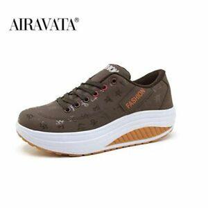 Women Platform Sneakers Thick Bottom Fashion Casual Shoes Trainers Running New