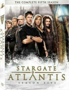 STARGATE OF ATLANTIS DVD - Season Five (PAL, 5 Disc) Free Post
