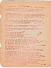 MOONSHINE #5 - 1946 sci-fi fanzine - Len Moffatt - FORREST ACKERMAN COLLECTION