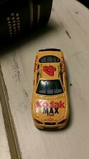 Vintage Racing Champions Yellow Diecast Toy Car #4 Kodak Max Film Monte Carlo